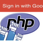 Google login using php